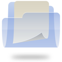 document, folder, file, paper icon