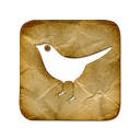 bird, square, social network, animal, twitter, sn, social icon