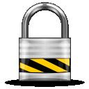 privacy, security, lock, locked, gnome, lockscreen icon
