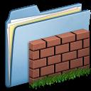 blue,wall icon