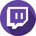 games, logo, social network, twitch icon