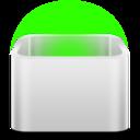 trashcan,empty icon