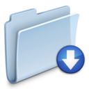 drop,folder,badged icon