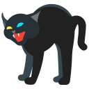 holidays, cat, halloween, pet, scary, animal icon