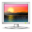computer, screen, desktop, wallpaper, monitor icon