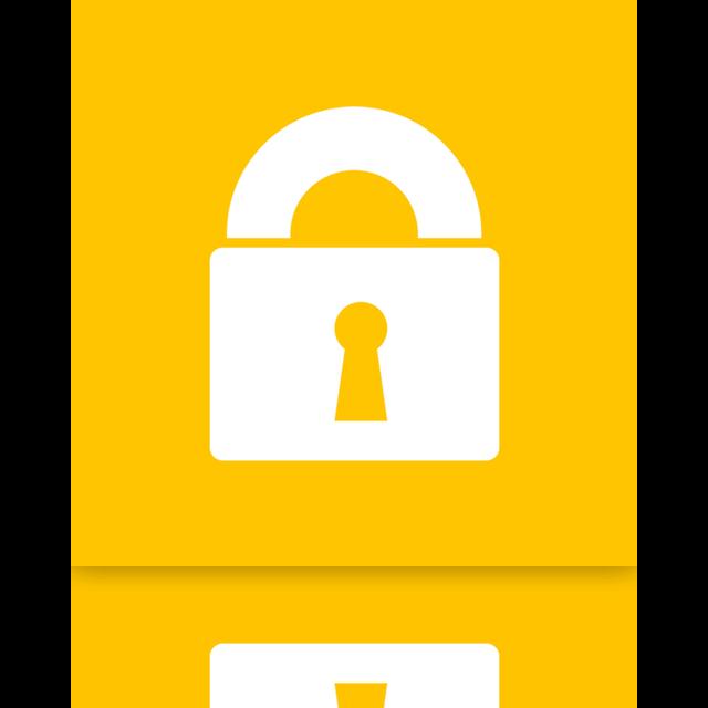 power, lock, mirror icon