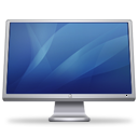 Cinema Display blue icon