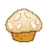 coconut,almond,muffin icon