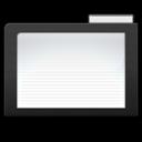 dark, folder icon