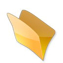 Dossier, Jaune icon