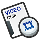 video, cilp icon