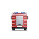 FireTruck Back Red icon