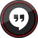 media, hangouts, logo, social, google icon