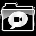 folder, chats icon