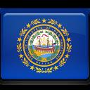 hampshire, new, flag icon