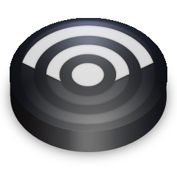 black, feed, rss, subscribe icon