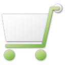 shopping, green, commerce, cart, shopping cart, buy icon