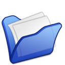 folder,blue,mydocument icon