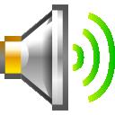 newschool, volume, audio, high icon