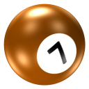 Ball 7 icon