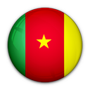 of, cameroon, flag icon