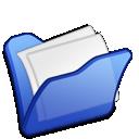 Blue, Folder, Mydocuments icon