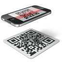 Code, Iphone, Qr icon