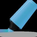 blue, highlightmarker icon