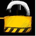 unlocked, padlock, lock icon