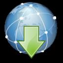 Extras internet download icon