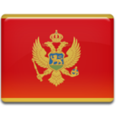 montenegro,flag,country icon