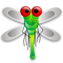 Dragon, Fly icon