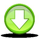 descend, fall, decrease, download, down, descending icon