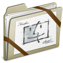 Lightbrown Sketch icon