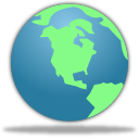 Browser, Earth, Globe, World icon