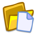 document, paper, folder, file icon