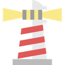 navigation, shine, light, lighthouse, nautical, sea, ocean icon