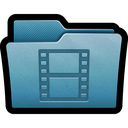 mac, folder, videos, movies, films, storage, documents icon