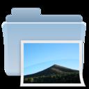 Pictures Folder Badged Alt icon
