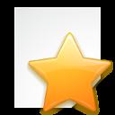 favorite, document, bookmark icon