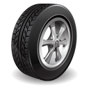 tire, wheel, tyre icon