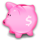 bank, savings, piggy, money icon