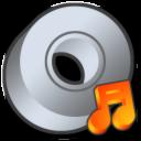 cdrom audio or itunes icon