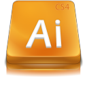 illustrator, adobe, cs icon
