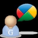 user, google buzz, buzz icon