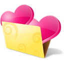 favourite, favorite, love, folder, bookmarks icon
