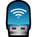usb, signal, wireless, network, adapter, connection, wifi icon