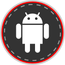 social, online, android, media icon