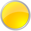 circle,yellow,round icon