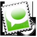 technorati, grey icon